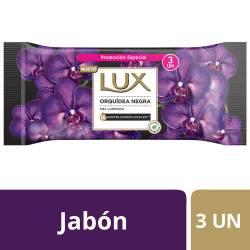 Jabón Tocador Lux Orquídea Negra x 3 un. 375 g.