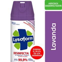 Desinfectante Aerosol Lysoform Lavanda x 285 cc.