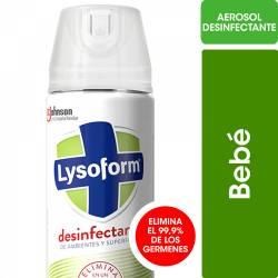 Desinfectante Aerosol Lysoform Bebé x 285 cc.
