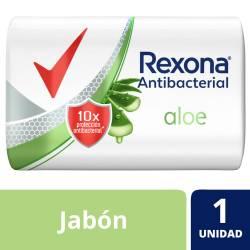 Jabón de Tocador Antibacterial Rexona Aloe x 90 g.