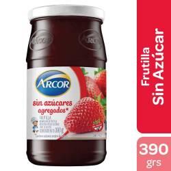 Mermelada de Frutilla Sin Azúcares Arcor x 390 g.