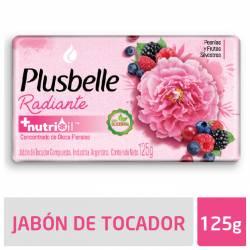 Jabón Tocador Plusbelle Belleza Radiante x 125 g.