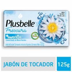 Jabón Tocador Plusbelle Frescura Intensa x 125 g.
