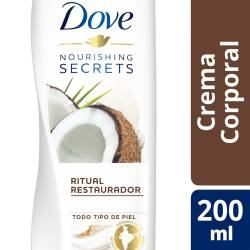 Crema Corporal Nourishing Secrets Dove Coco y Almendras x 200 ml.