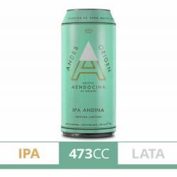 Cerveza Ipa Andina Andes Origen Lata x 473 cc.