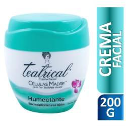 Crema Facial Humectante Teatrical x 200 cc.