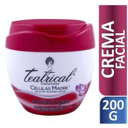 Crema Facial Antiarrugas Teatrical x 200 cc.