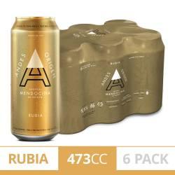 Cerveza Andes Origen Pack x 6 Latas de 473 cc