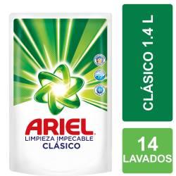 Jabón Líquido Limpieza Impecable Ariel Doy Pack x 1,4 Lt.
