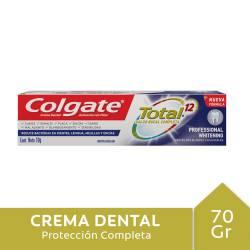Crema Dental Colgate Professional Whitening x 70 g.