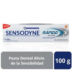 Crema Dental Blanqueadora Sensodyne Rápido Alivio x 100 g.