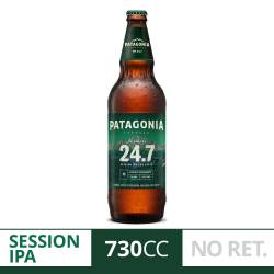 Cerveza Patagonia 24.7 NO Retornable x 730 cc.