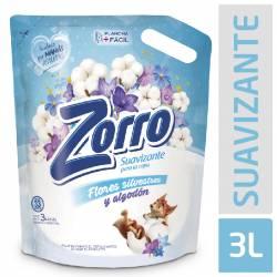 Suavizante para La Ropa Zorro Flores Silvestres Doy Pack x 3 Lt.