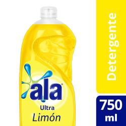 Detergente Ultra Desengrase Ala Limón x 750 cc.