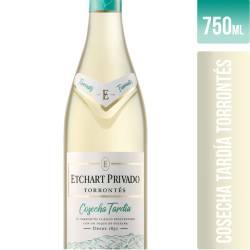 Vino Blanco Etchart Privado Torrontés - Cosecha Tardía x 750 cc.