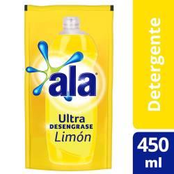 Detergente Ultra Desengrase Ala Limón Doy Pack x 450 cc.