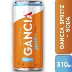 Spritz + Soda Gancia Lata x 310 cc.