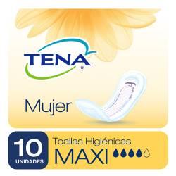 Toalla para Incontinencia Tena Mujer Maxi x 10 un.