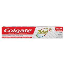 Crema Dental Total 12 Colgate Clean Mint x 192 g.
