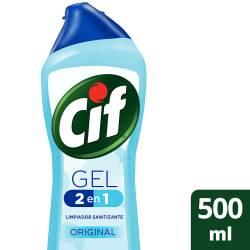 Gel 2en1 Limpieza + Acción Antibacterial Cif Original x 500 cc.