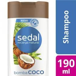 Shampoo Sedal Bomba Coco x 190 cc.