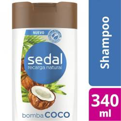 Shampoo Sedal Bomba Coco x 340 cc.