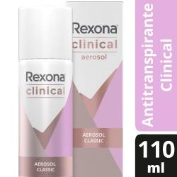 Antitranspirante Aerosol Rexona Clinical Classic x 110 cc.
