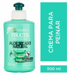 Crema para Peinar Fructis Aloe Secado Natural x 300 cc.
