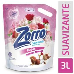 Suavizante para Ropa Zorro Rosas y Flores Blancas x 3 Lt.