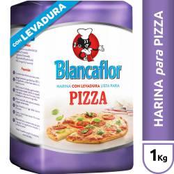 Harina con Levadura para Pizzas Blancaflor x 1 Kg.