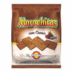 Galletitas Dulces Par-Nor Cacao Morochitas x 140 g.