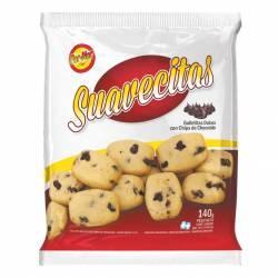 Galletitas Dulces Par-Nor Chips Suavecitas x 140 g.