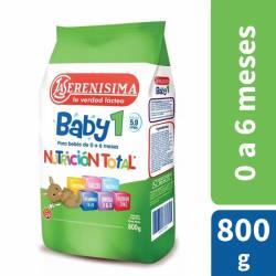 Leche Modificada en Polvo La Serenísima Baby 1 x 800 g.
