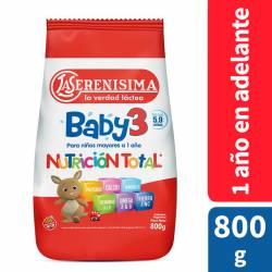 Leche Modificada en Polvo La Serenísima Baby 3 x 800 g.