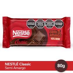 Chocolate Semiamargo Nestlé x 90 g.