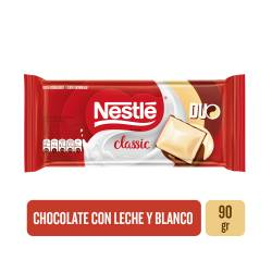 Chocolate Blanco Nestlé Dúo x 90 g.