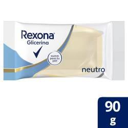 Jabón Glicerina Rexona Neutro x 90 g.
