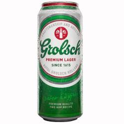 Cerveza Grolsch Lata x 473 cc.