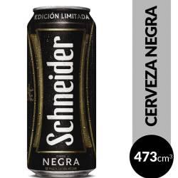 Cerveza Negra Schneider Edición Limitada Lata x 473 cc.
