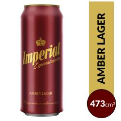 Cerveza Roja Imperial Amber Lager Lata x 473 cc.