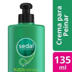 Crema para Peinar Sedal Rizos Definidos x 135 cc.
