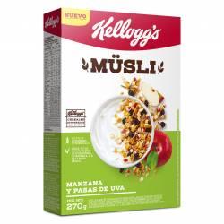 Cereal Mixto Kelloggs con Manzana y pasas Estuche x 270 g.