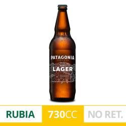 Cerveza Patagonia Hoppy Lager NO Retornable x 730 cc.