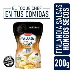 Salsa Hongos secos Chef Finlandia x 200 g.
