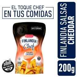 Salsa Cheddar Chef Finlandia x 200 g.