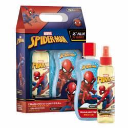 Set Body Splash + Shampoo Spiderman Avengers x 1 un.
