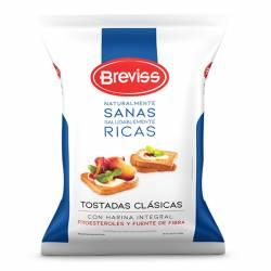 Tostadas Clásicas Breviss con Fitoesteroles x 200 g.