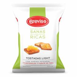 Tostadas Light Breviss con Fitoesteroles x 200 g.