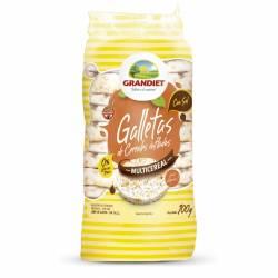 Galletas Multicereal con Sal Grandiet x 100 g.