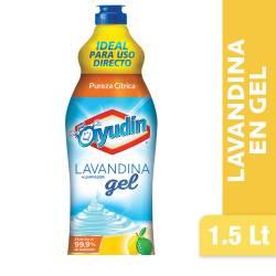 Lavandina en Gel Ayudín Pureza Cítrica x 1,5 Lt.
